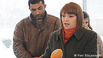Mazedonien Presse TV Sender TV A1 in Skopje