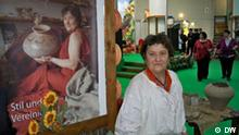 Ukrainische Töpferin Ljudmyla Smolyakova