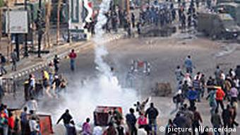Ägypten Proteste Demonstration in Suez