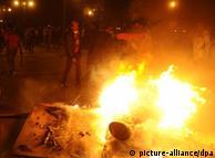 الاحتجاجات تخللتها أعمال فوضى وعنف في القاهرة