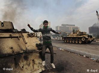 Demonstrant in Kairo (Foto: AP)