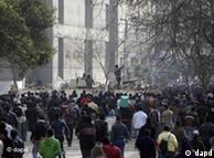 صحنهای از تظاهرات ضد دولتی امروز (شنبه ۲۹ ژانویه) در قاهره