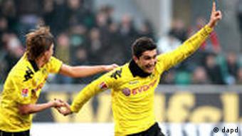 Fussball Bundesliga Saison 10/11 20. Spieltag Vfl Wolfsburg Borussia Dortmund