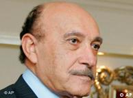 عمر سلیمان، معاون رئیس جمهوری مصر و رئیس پیشین سازمان اطلاعات و امنیت