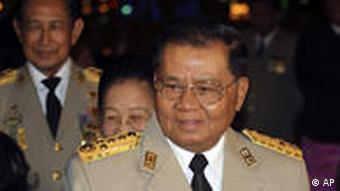 Myanmar's junta chief Senior General Than Shwe