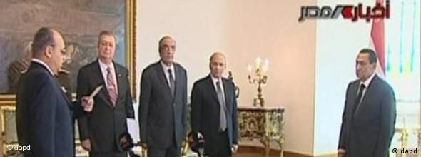 Ägypten Proteste Vereidigung Innenminister NO FLASH