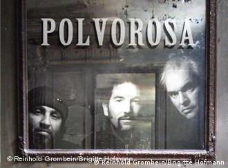 Polvorosa: Die Musiker Ginsberg, Puente und Hafsi, September 2010; (Copyright: Reinhold Grombein/Brigitte Hoffmann)