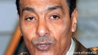 Egyptian Defense Minister Hussein Tantawi