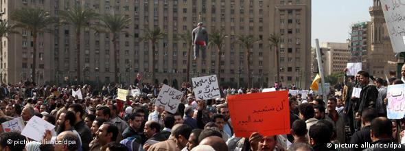 NO FLASH Ägypten Mubarak Kairo Proteste Demonstration 01.02.2011
