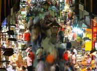 Bekannt für sein Angebot an Gewürzen: der Ägyptische Bazar in Istanbul (Archibild: AP)