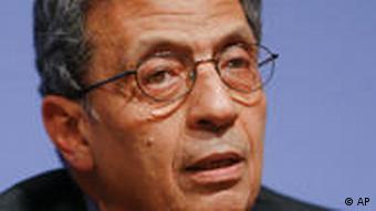 Amr Moussa, secretary general of the Arab League