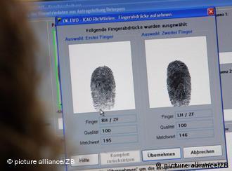 Відбитків пальців вимагає ЄС