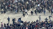 Ägypten Kairo Proteste Demonstrationen Zusammenstöße