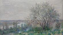 Claude Monet Frühlingsstimmung bei Vétheuil