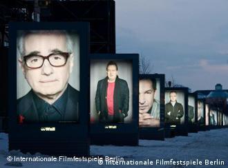 Großplakate mit internationalen Filmstars und Regisseuren in Berlin (Foto: Internationale Filmfestspiele Berlin)