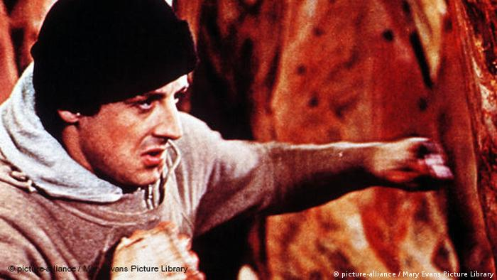 Filmszene aus 'Rocky' mit Sylvester Stallone.