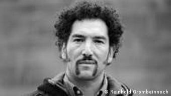 Polvorosa-Frontman Daniel Puente (Copyright: Reinhold Grombein)