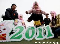 中国迎来兔年,越南庆祝猫年