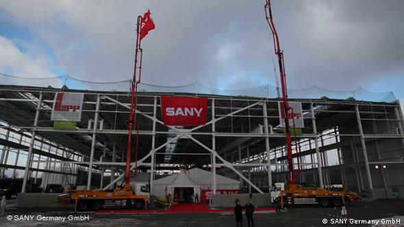 Sany will start up production at its new site near Cologne this year