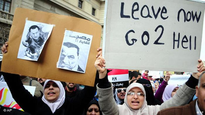 Perempuan Irak di Tahrir Platz, Januari 2011