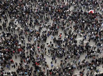 O secvenţă a revoluţiei din Egipt