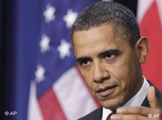 US-Präsident Barack Obama hat am Montag (14.02.2011) den Etat-Entwurf für 2012 vorgelegt (Foto: AP)