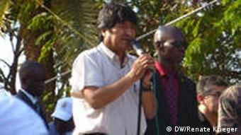 Boliviens Präsident Evo Morales (Bild: Renate Krieger)