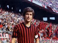 جیانی ریورا، در پیراهن باشگاه آ ث میلان