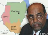 Separação deixa Omar Al Bashir em situação delicada