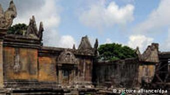 The Preah Vihear Temple lies in a disputed border area claimed by both Cambodia and Thailand