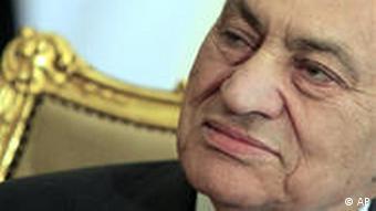 Der abgetretene Machthaber Husni Mubarak (Foto: AP)
