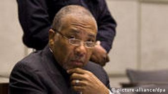 Liberias ehemaliger Präsident Charles Taylor steht vor Gericht in den Niederlanden. (Foto:EPA)
