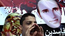 Ägypten Demonstration in Alexandria zum Tod von Khaled Said