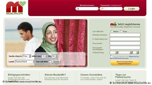 یکی از سایتهای زوجیابی ویژه مسلمانان