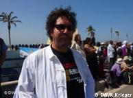 Der Tunesier Jelloul Ben Hamida ist Koordinator der Weltcharta für Migranten (Bild: Renate Krieger)