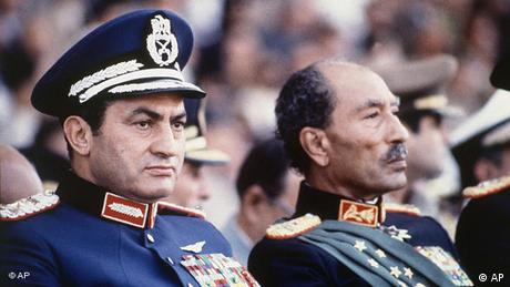 Flash-Galerie Ende Hosni Mubarak Ära Muhammad Anwar as-Sadat