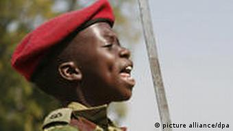 12 year old child soldier in Zimbabwe