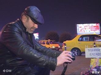 Der türkische Taxifahrer Seytek Sahintas fotografiert nachts die Obdachlosen von Istanbul.