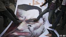 Mubarak Rücktritt Symbolbild Ägypten Kairo