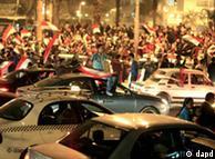 穆巴拉克下台当天,开罗成了欢乐的海洋