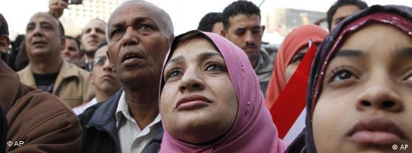 Ägypten Kairo Tag nach Rücktritt Mubarak NO FLASH