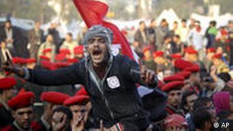Ägypten Kairo Revolution Mubarak Sturz Rücktritt 13.02.2011