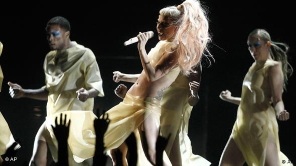 Grammy Awards Los Angeles 2011 Flash-Galerie