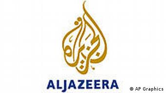 NEWS USE ONLY 2006/11/17 #949515: AL JAZEERA tv logo, graphic element on white