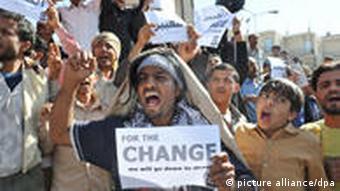 protester in yemen