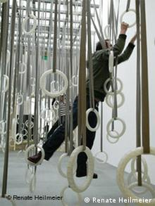 William Forsythe's Ringinstallation. Foto: Renate Heilmeier