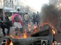 صحنهای از تظاهرات ۲۵ بهمن