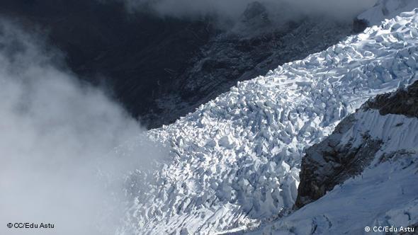 Close-Up eines Gletschers (Foto: cc/Edu Astu)