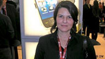 Antje Weber von der Symantec Deutschland GmbH (Foto: Rolf Wenkel)