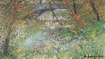 Banks of the Seine at the Pont de Clichy in the spring, Paris, June 1887